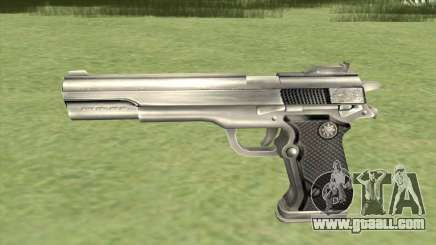 Desert Eagle (Silver) for GTA San Andreas