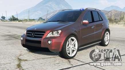Mercedes-Benz ML 63 AMG Kriminalpolizei for GTA 5