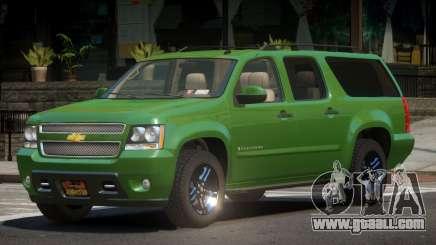 Chevrolet Suburban V2.1 for GTA 4
