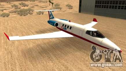 Buckinghan Shamal-Luxor V2 (Airlines Sings) for GTA San Andreas