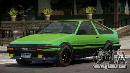 Toyota Trueno ST for GTA 4