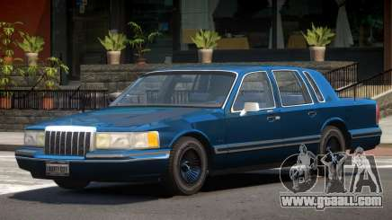 Lincoln Towncar ST for GTA 4