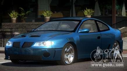 Pontiac GTO ZT for GTA 4