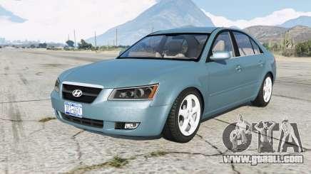 Hyundai Sonata (NF) 2008 for GTA 5