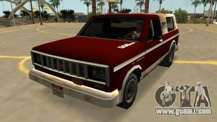 Vapid Bobcat Farmtruck (Badges & Extras) for GTA San Andreas