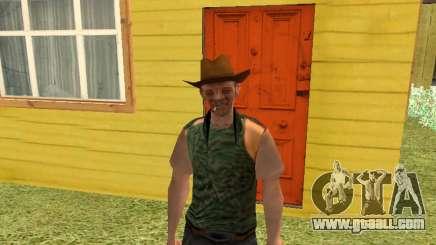 Nikolai Dobrynin (in the role of Mitya Buhangin) for GTA San Andreas