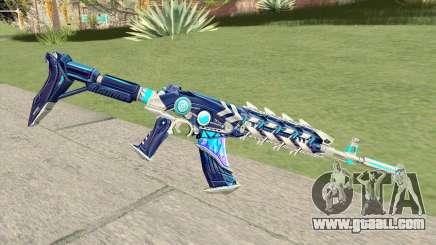 AK-47 (Broken Ice) for GTA San Andreas