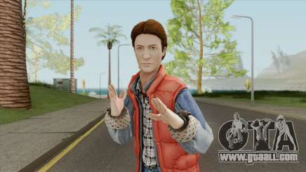 Marty McFly for GTA San Andreas