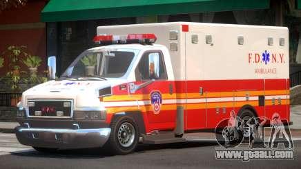 GMC C4500 Ambulance V1.2 for GTA 4