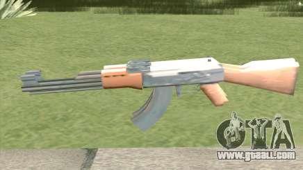 Double AK-47 for GTA San Andreas