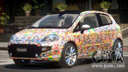 Fiat Punto RS PJ5 for GTA 4