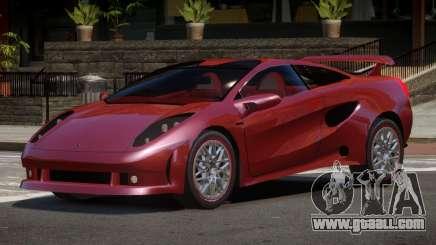 Lamborghini Cala SR for GTA 4
