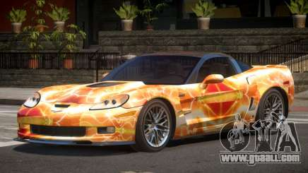 Chevrolet Corvette ZR1 LS PJ5 for GTA 4
