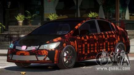 Honda Civic R-Tuning PJ4 for GTA 4