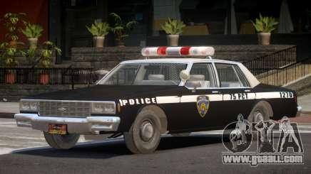 1985 Chevrolet Impala Police for GTA 4