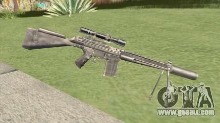 G3SH1 Silenced for GTA San Andreas