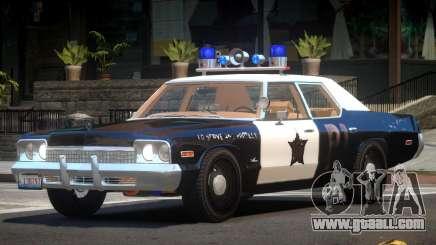 1975 Dodge Monaco Police V1.2 for GTA 4
