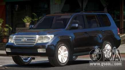 Toyota Land Cruiser 200 LS for GTA 4