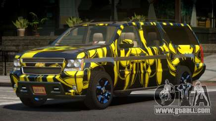 Chevrolet Suburban E-Style PJ1 for GTA 4