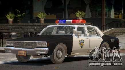 Chevrolet Impala ST Police for GTA 4
