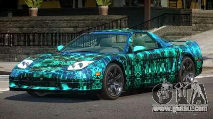 Acura NSX GT PJ2 for GTA 4