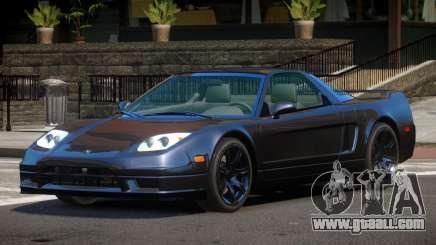 Acura NSX GT for GTA 4