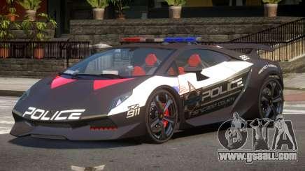 Lamborghini SE Police V1.1 for GTA 4