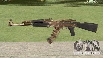 AK-47 (Camo Desert) for GTA San Andreas