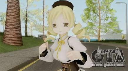 Mami Tomoe (Madoka Magica) for GTA San Andreas