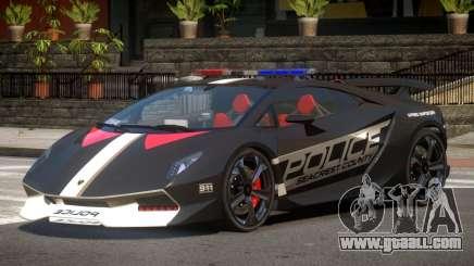 Lamborghini SE Police V1.3 for GTA 4