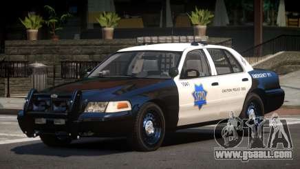 Ford Crown Victoria CR Police for GTA 4