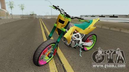 Aprilia MXV 450 for GTA San Andreas