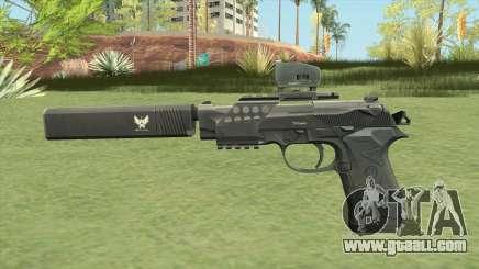 Beretta 92 (Silenced) for GTA San Andreas