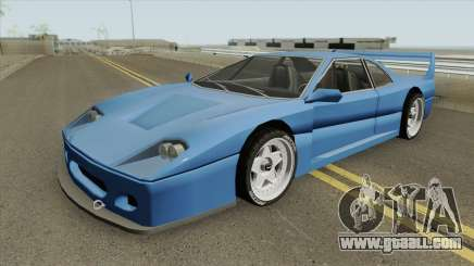 Turismo F40-GT (BlueRay) for GTA San Andreas