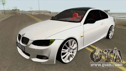 BMW E92 335D M-Tech 2007 for GTA San Andreas