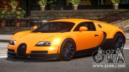 Bugatti Veyron SS for GTA 4