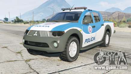 Mitsubishi L200 Police Department for GTA 5