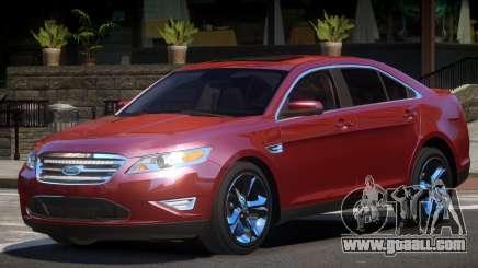 Ford Taurus Edit for GTA 4