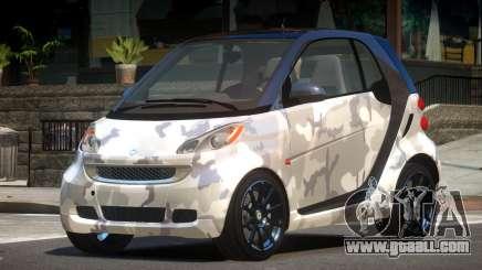 Smart ForTwo RS PJ2 for GTA 4