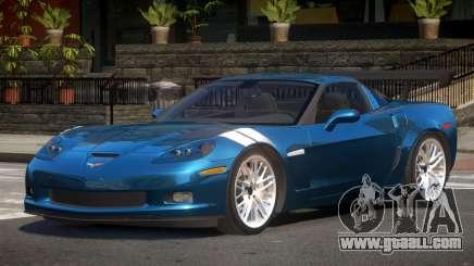 Chevrolet Corvette GS for GTA 4