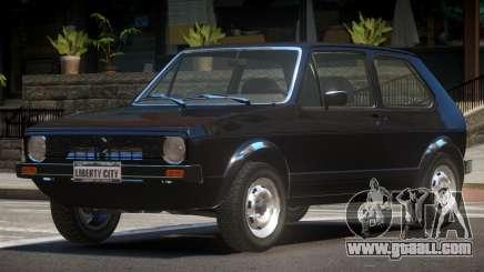 Volkswagen Golf MK1 RS for GTA 4