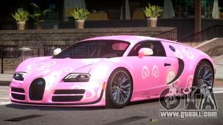 Bugatti Veyron SS PJ4 for GTA 4