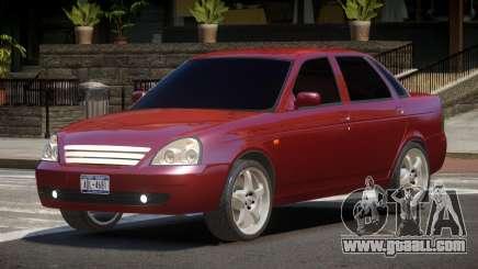 Lada Priora L-Tuned for GTA 4