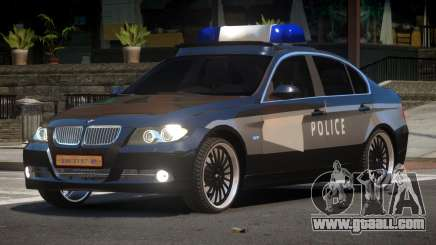 BMW 320i RS Police for GTA 4