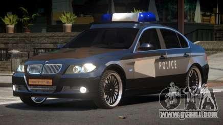 BMW 320i RS Police for GTA 4