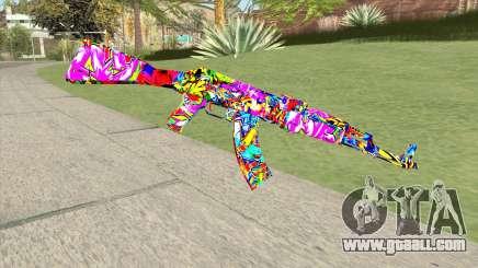 AK-47 (Incarnated) for GTA San Andreas