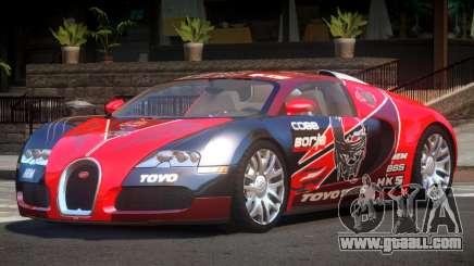 Bugatti Veyron DTI PJ6 for GTA 4