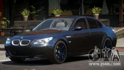 BMW M5 E60 LS for GTA 4