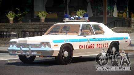 1975 Dodge Monaco Police V1.1 for GTA 4