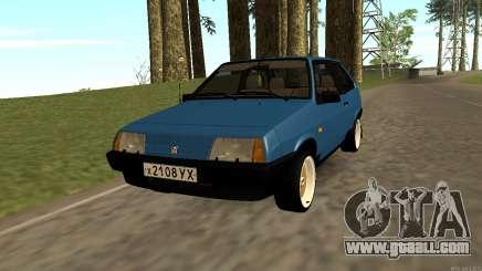 VAZ 2108 Czechoslovakia export ver.0.2 for GTA San Andreas